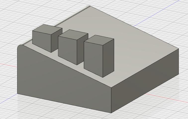 矩形状パターン-調整