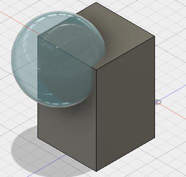 結合-直方体と球のブーリアン演算の場合_図