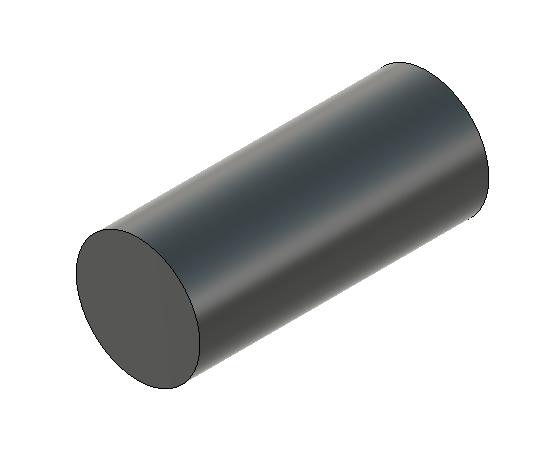 Fusion 360で描いた円柱をドラッグ
