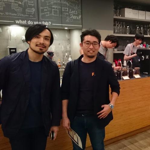 【Fabさんぽ4】FabCafe Tokyo さんへ行ってきました。