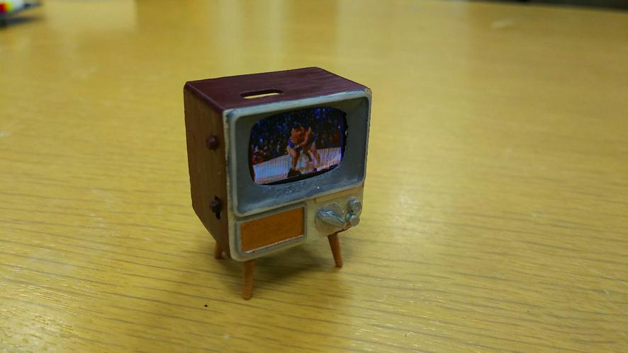 今回紹介するのはFusion 360で作られたテレビです。