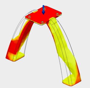 Fusion 360の解析機能「シェイプ最適化」を使ってみたらなかなかいい脚ができた!
