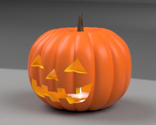 お題は「ハロウィンかぼちゃ!」勝手にモデリングコンテスト応募作品ギャラリー!!全54作品受賞発表☆彡