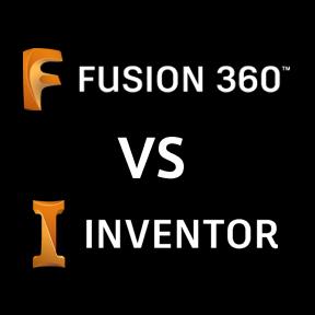 Fusion 360とInventorを徹底比較!
