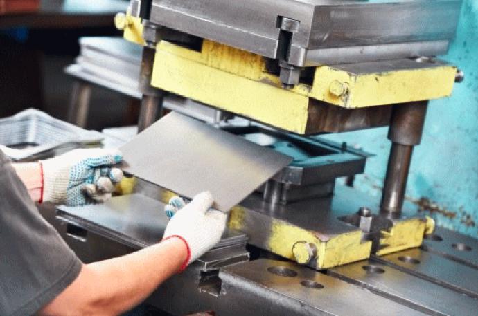 金属製品の作り方:板金加工