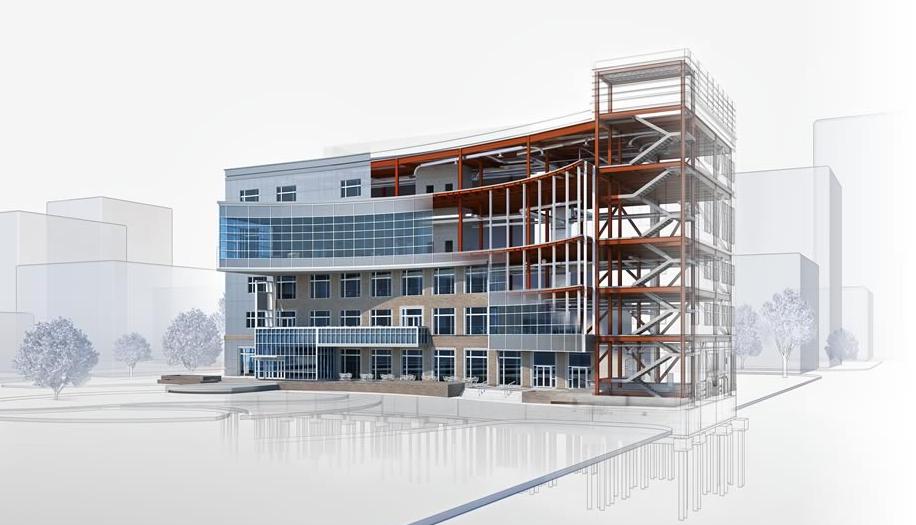 建築業界で3DCADが利用される理由とは?BIMツール「Revit」の特徴