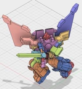 90年代ロボットアニメ風のロボット作成プロジェクト