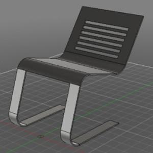 【Fusion360バトル】履歴3つで椅子を作る!タネ明かし動画公開