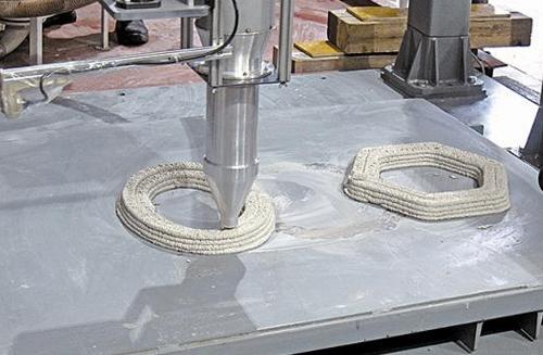 大成建設など4社共同で建設用3Dプリンターを開発