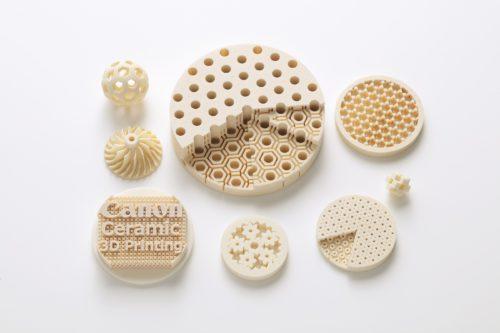 キヤノンが独自開発!3Dプリンター用セラミックス材料と高精度な部品作製技術とは?!