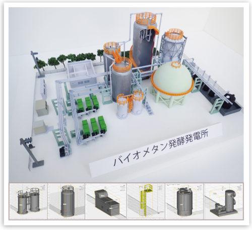 3DCAD活用で、図面からスピーディに3Dモデルを作成する「プラント事業の設計支援サービス」
