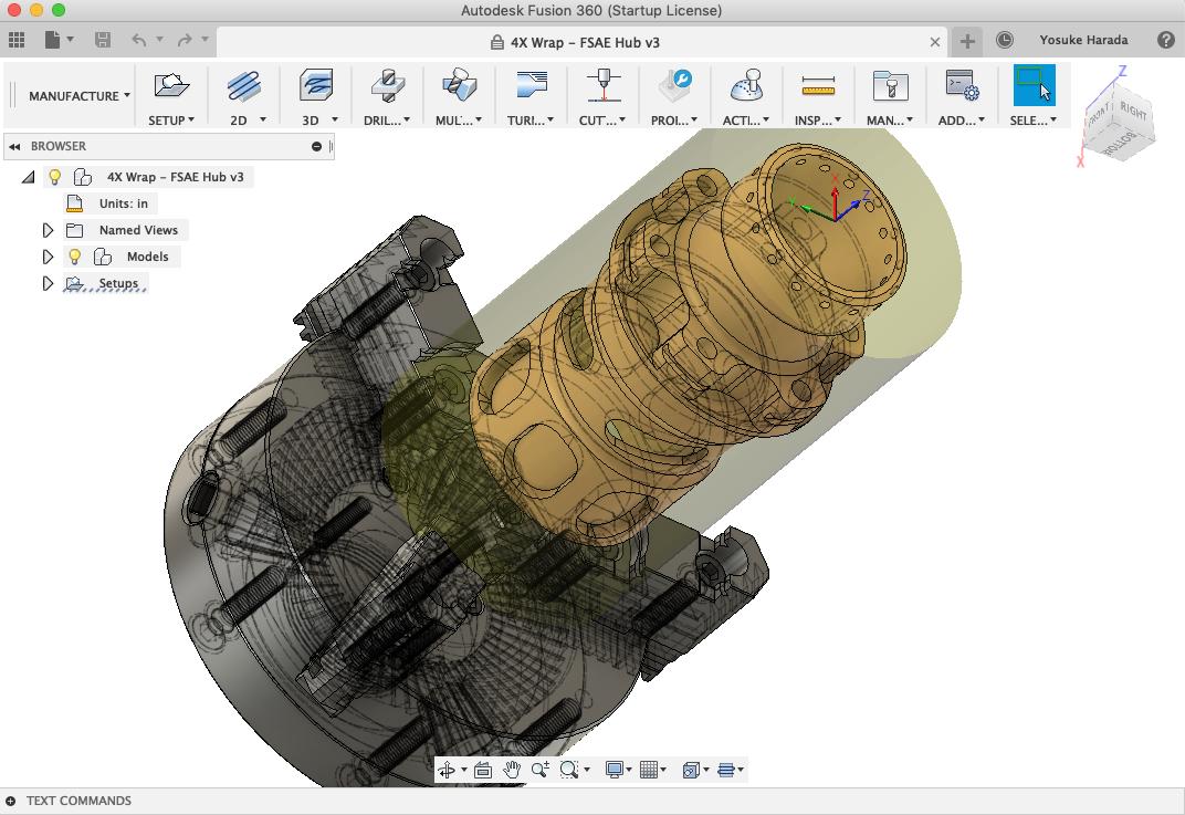 Fusion360はAutodesk社のCADソフトです