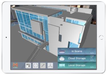 3D CAD/BIMをAR/MR向けに自動変換する「mixpace」のiPad対応版、提供開始へ!