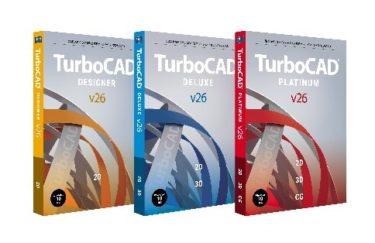 「TurboCAD v26シリーズ日本語版」販売開始へ!