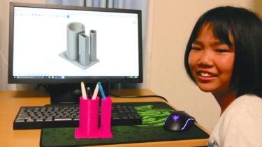 女子小学生が3Dプリント!?Fusion 360でチャレンジ!