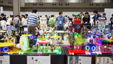 会場が広くなり、さらに盛り上がったものづくりの祭典「Maker Faire Tokyo 2017」