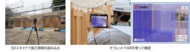 大東建託が3Dスキャナによる周辺点群データを活用した施工管理システムを開発へ!