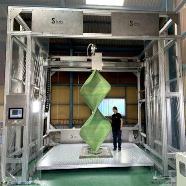 エス.ラボ株式会社、超大型3Dプリンタで高さ2.8mの造形に成功へ!