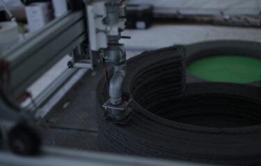 国内初!建設用3Dプリンタを用いた実利用土木構造物の現場施工を実施!