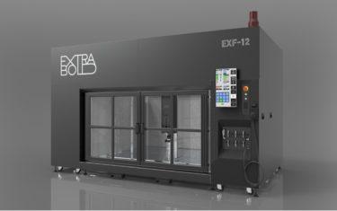 ExtraBoldが大型3D積層造形機EXF-12の量産機を発表へ!