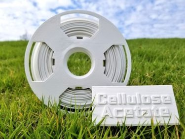 高生分解性酢酸セルロースを用いた3Dプリンター用フィラメント販売へ!