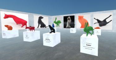 3Dプリント作品を買えるバーチャルギャラリー「POP-UP 3D」オープンへ!
